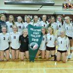 Mustang Volleyball team