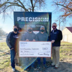 Precision Plumbing donates to Mustang Way Park Campaign