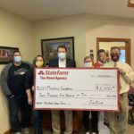State Farm Tim Reed donation