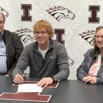 Tom Reiff signing to play baseball at Simpson